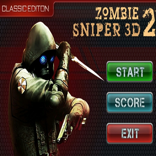 Zombie sniper 3d title fixed3