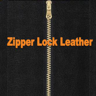 1 zipper lock leather collection title