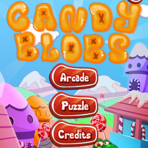 Candy blobs title