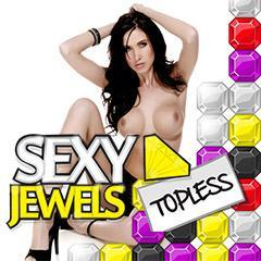 Touch sexyjewels topless print cover en