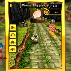 Touch 3d jungle run 4