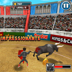 Touch bull fighter 1