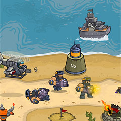 Touch island defence 2