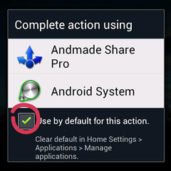 Touch 2 andmade share pro 5.2