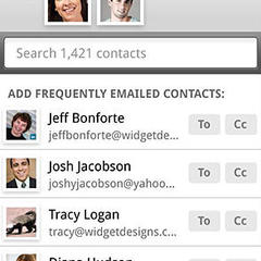 Touch 2 smartr contacts beta