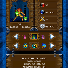 Touch jewelduel html5 screen 240x320 3
