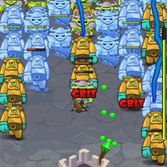 Touch castledefense html5 screen 240x320 2